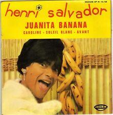HENRI SALVADOR JUANITA BANANA FRENCH ORIG EP JACQUES DENJEAN
