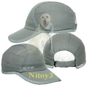 CTR Reflective Piped Brim Running Cap-Hat Men One Size  (T)