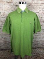 Tommy Hilfiger Green Mens Short Sleeve Polo Shirt XL