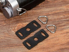 Leather Camera Body Protector Cover and Strap Triangle Split Rings - UK STOCK