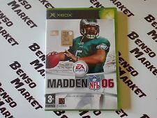 MADDEN NFL 06 2006 -  MICROSOFT XBOX ORIGINALE CLASSIC - PAL - COMPLETO