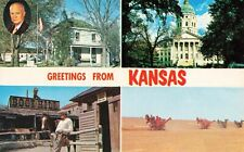Postcard Greetings from Kansas