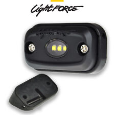 LIGHTFORCE ROK9 SURFACE MOUNT 9W WORK LIGHT 5000K WITH 30 DEGREE ANGLE MOUNT