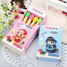 Funny Cute Match Rubber Pencil Eraser Set Stationery Novelty Children Party LI
