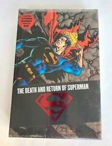 THE DEATH AND RETURN OF SUPERMAN OMNIBUS DC Comics Sealed by Simonson Kesel