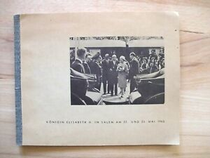 Königin Elisabeth II. in Salem am 22. und 23. Mai 1965