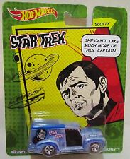 New Hot Wheels Star Trek Scotty Custom '52 Chevy Die Cast Car Real Riders 2014