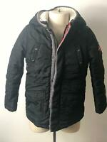 BOYS CATIMINI BLACK REMOVABLE BODY WARMER WINTER COAT JACKET KIDS AGE 5 YEARS
