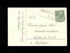 """Österreich 1913 - Bahnpost Ra. """"Tachau - Plan""""      (#7908)"""