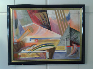 Oil Painting, Abstract Expresssionist