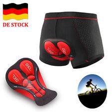 Radunterhose Herren Fahrradhose 5D Gel Sitzpolster Kurze Hosen MTB Radhose Short