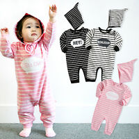 "Vaenait Baby Infant Girls Clothes Sleeveless Bodysuit Outfit /""G.Coolcool/"" 0-24M"