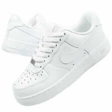 NIKE Air Force 1 Damenn Sportschuhe Sneaker Weiß 315115 112