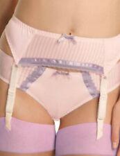 PM5507 Morello Purple Striped POUR MOI /'Promise/' Suspender Belt Size M Medium