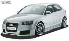 "RDX Stoßstange Audi A3 8P 2003-2006 ""SingleFrame 2"" Front Schürze Vorne Spoiler"