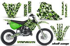 Kawasaki KX80 KX100 Graphic Kit AMR Racing Bike Decal Sticker KX 95-97 S CAMO G