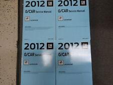 2012 BUICK LACROSSE Service Shop Repair Manual Set FACTORY BOOKS 2012 NEW