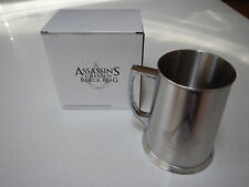Assassin's Creed IV 4 Black Flag Official Stainless Steel Tankard *NEW!!*