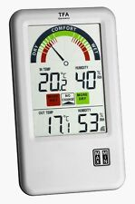 SPEZIAL-FUNK-THERMO-HYGROMETER BEL AIR TFA 30.3045 FUNKTHERMOMETER LÜFTUNGSCHECK