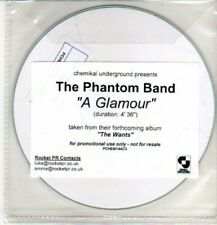 (CQ542) The Phantom Band, A Glamour - 2010 DJ CD