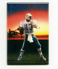"DAN MARINO / TROPICAL STORM 2""x3"" POSTER FRIDGE MAGNET (costacos dolphins miami)"