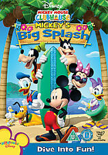 Mickey Mouse Clubhouse - Big Splash (DVD, 2009)