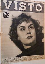 VISTO 17 gennaio 1953 Ana Mariscal Valentin Javier Ritirata di Russia Eugenia