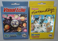 PUZZLES : NINTENDOGS AND SOLAR SYSTEM BY VISUAL ECHO 3D PUZZLES          (MLFP)
