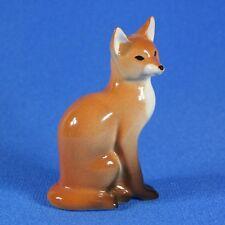Fox Lomonosov Porcelain Figurine Russia IFZ