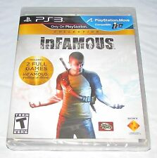 Infamous Collection für Playstation 3 BRANDNEU! Factory sealed!