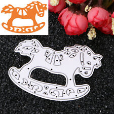 Horse Metal Cutting Dies Stencil Scrapbooking Card Paper Embossing Craft