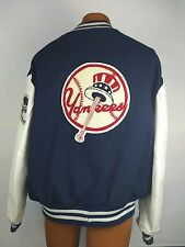 Vintage Yankees - Wool Jacket - Delong - Size 48 - Made in USA - MLB - Letterman