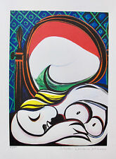 Pablo Picasso SLEEPING NUDE ABSTRACT Estate Signed Limited Editon Giclee Medium