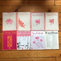 Vintage Lot of 8 Sheet Music Song Folio Songbook