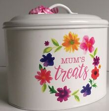 Mother's Day Gift, Mum's Treats Tin Box Perfect Gift