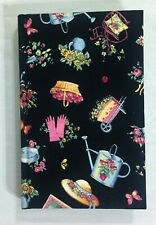 Mary Engelbreit Hard Cover Journal Fabric Cover Unused Preowned