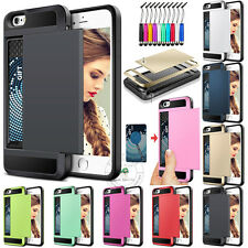 Impact Resistant Protective Shell Cover Shockproof Bumper Case Card Slot Popular