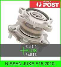 Fits NISSAN JUKE F15 2010- - Rear Wheel Bearing Hub