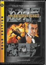DVD ZONE 2--JAMES BOND--BONS BAISERS DE RUSSIE--CONNERY/SHAW/YOUNG--NEUF