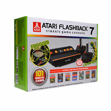 Atari Flashback 7 Video Game Console With 101 Games Two Wireless Controllers