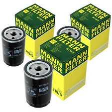 3 x MANN-FILTER Ölfilter Audi 100 C1 1.8 1.9 44 44Q C3 Cat quattro 2.2 200 43
