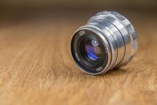 Industar-26m f2,8/52mm, M39, Russian rangefinder lens.
