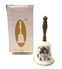 Vintage 1975 Norman Rockwell Love'S Harmony Gorham Fine China Bell Collector!