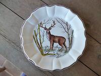 Este Ceramiche Italy Wildlife Hand Painted  Artist Signed Dinner Plate #C