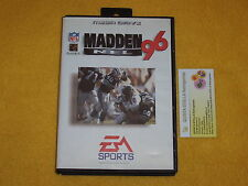 MADDEN NFL 96 SEGA MEGA DRIVE PAL VERSION NUOVO GAME NEW / BOX SMALL DEFECTS