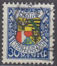 LIECHTENSTEIN - 1927 LANDESWAPPEN Mi: 77 - used - BILLIG !!
