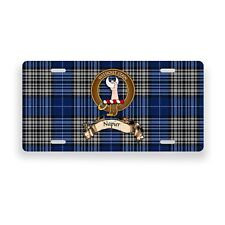 Napier Scottish Clan Novelty Auto Plate Tag Family Name License Plate