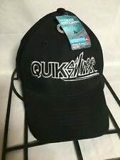 QuikSilver Blackout Baseball Hat Cap Fitted Youth Boys 8-20 Logo Hat