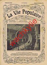 la vie populaire 96 - 16/09/1904 boucle automobile aux Folies-Bergère Pipe Carte