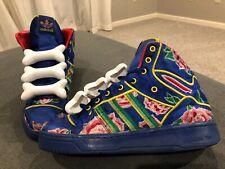 Adidas Jermey Scott, Floral Chinese New Year Bones, Q21475, Size 9.5, RARE!